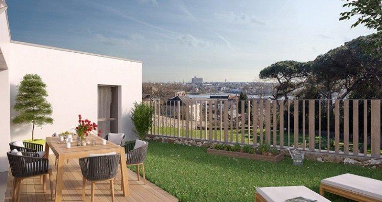 Achat / Vente immobilier neuf Nantes Parc des Oblates (44000) - Réf. 229