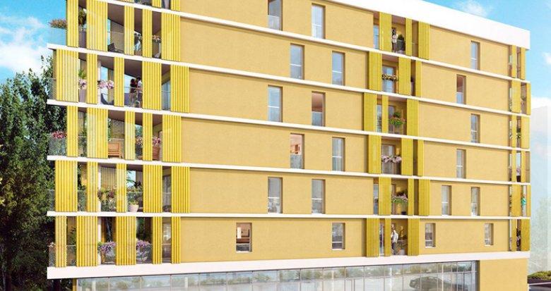 Achat / Vente immobilier neuf Nantes proche carrefour la Beaujoire (44000) - Réf. 2592