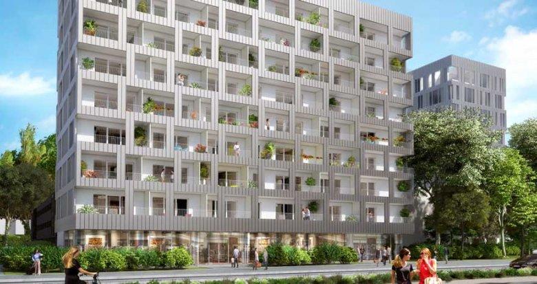 Achat / Vente immobilier neuf Nantes proche centre commercial Beaulieu (44000) - Réf. 2102