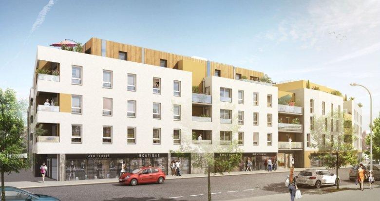 Achat / Vente immobilier neuf Nantes proche centre commercial Paridis (44000) - Réf. 1080