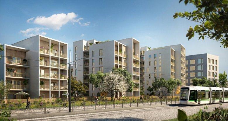 Achat / Vente immobilier neuf Nantes proche de la Roseraie (44000) - Réf. 6171