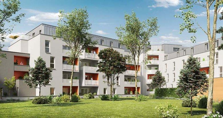Achat / Vente immobilier neuf Nantes proche du Parc de la Crapaudine (44000) - Réf. 1726