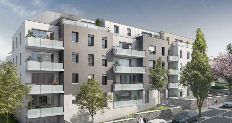 Achat / Vente immobilier neuf Nantes proche du Parc de la Gaudinière (44000) - Réf. 286