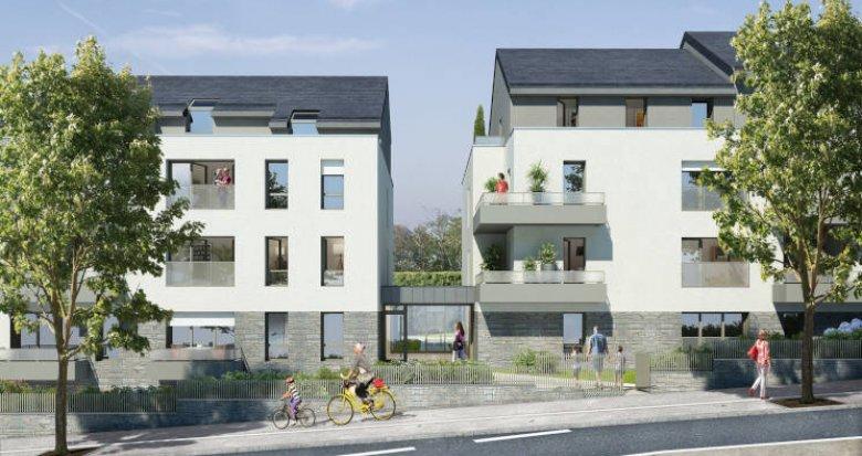Achat / Vente immobilier neuf Nantes proche du parc de Procé (44000) - Réf. 3489