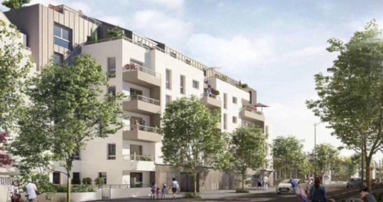 Achat / Vente immobilier neuf Nantes proche du Parc du Procé (44000) - Réf. 3421