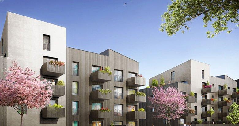 Achat / Vente immobilier neuf Nantes proche du Parc floral de la Roseraie (44000) - Réf. 2058