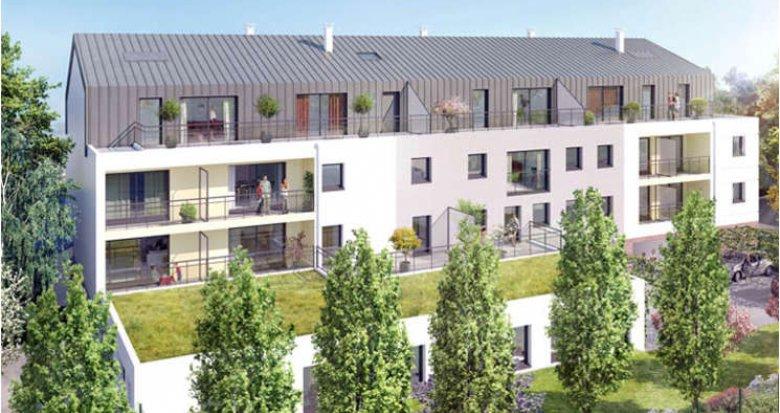 Achat / Vente immobilier neuf Nantes proche église Ste Thérèse (44000) - Réf. 686