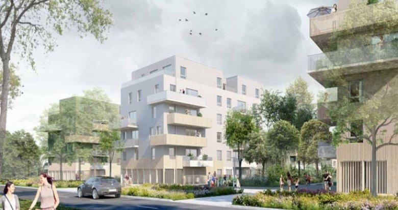Achat / Vente immobilier neuf Nantes proche parc de la Chantrerie (44000) - Réf. 3202