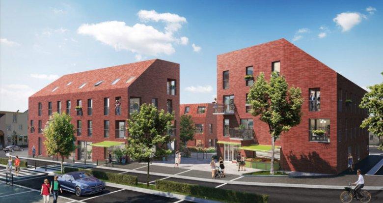 Achat / Vente immobilier neuf Nantes proche parc de la roseraie (44000) - Réf. 2216