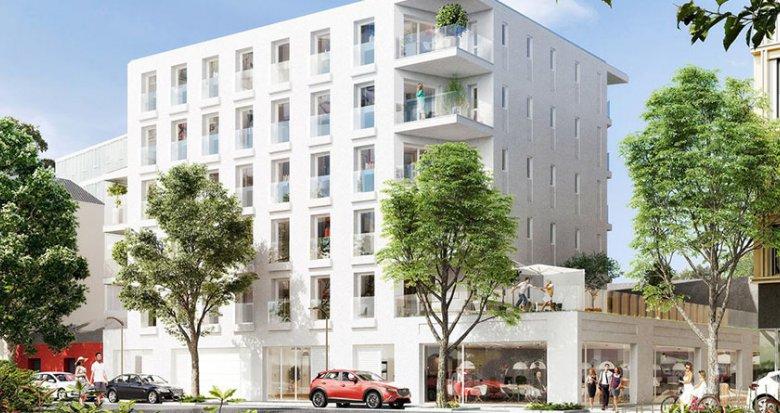 Achat / Vente immobilier neuf Nantes proche parc des Chantiers (44000) - Réf. 1212