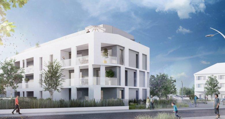 Achat / Vente immobilier neuf Nantes proche parc du Grand Blottereau (44000) - Réf. 707