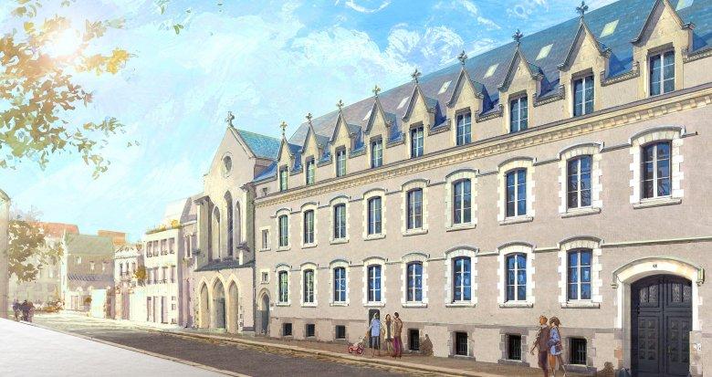 Achat / Vente immobilier neuf Nantes proche Place Viarme (44000) - Réf. 1990