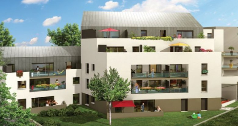 Achat / Vente immobilier neuf Nantes proche place Zola (44000) - Réf. 27