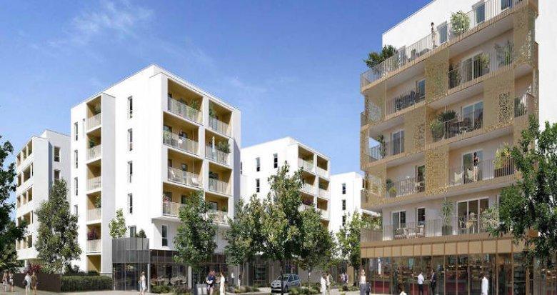 Achat / Vente immobilier neuf Nantes proximité parc de Beaujoire (44000) - Réf. 5462