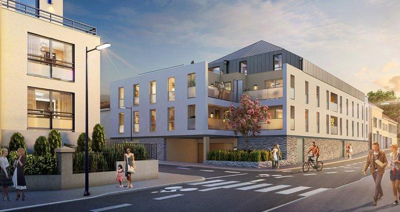 Achat / Vente immobilier neuf Nantes quartier Canclaux-Procé (44000) - Réf. 2101