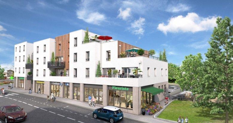 Achat / Vente immobilier neuf Nantes quartier Cens (44000) - Réf. 1379