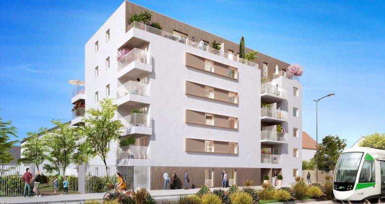Achat / Vente immobilier neuf Nantes quartier Croix Bonneau (44000) - Réf. 790