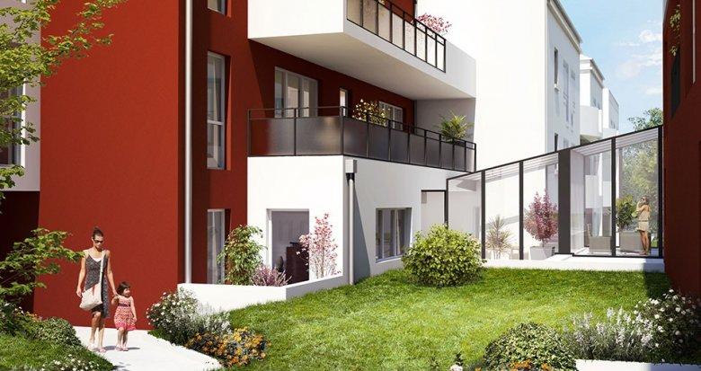 Achat / Vente immobilier neuf Nantes quartier Croix Bonneau (44000) - Réf. 1921