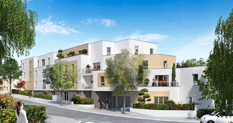 Achat / Vente immobilier neuf Nantes quartier de l'Éraudière (44000) - Réf. 1507