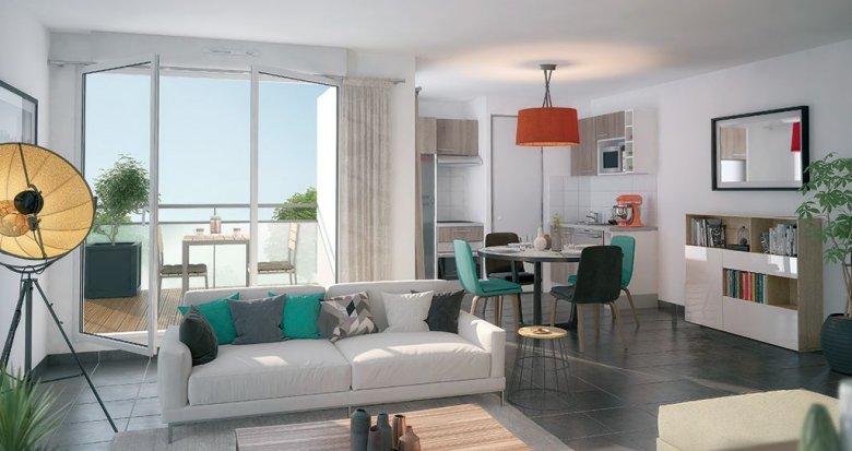 Achat / Vente immobilier neuf Nantes quartier de l'hippodrome (44000) - Réf. 339