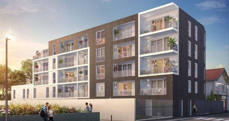 Achat / Vente immobilier neuf Nantes quartier de la Gaudinière proche commodités (44000) - Réf. 5266