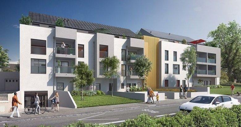 Achat / Vente immobilier neuf Nantes quartier des facs (44000) - Réf. 1450