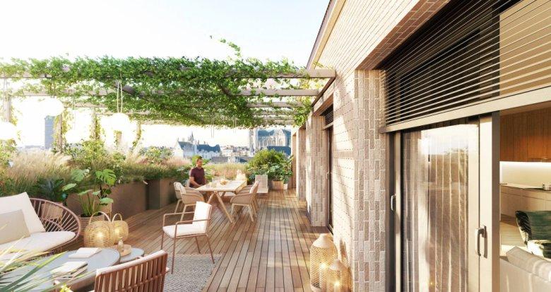 Achat / Vente immobilier neuf Nantes quartier des Olivettes (44000) - Réf. 6112