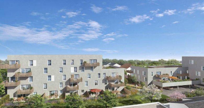 Achat / Vente immobilier neuf Nantes quartier Doulon-Bottière (44000) - Réf. 5648