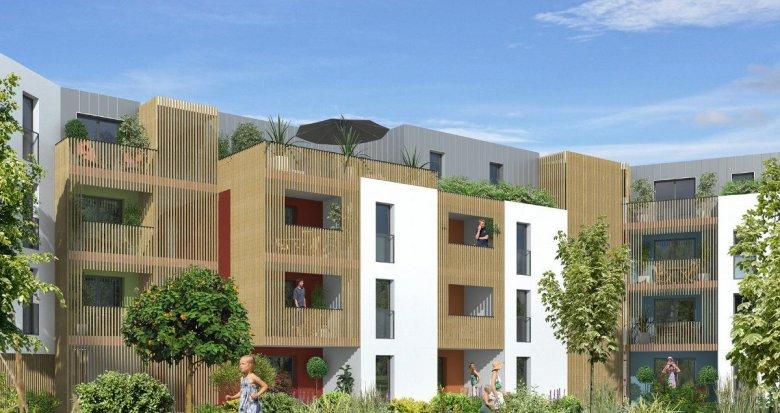 Achat / Vente immobilier neuf Nantes quartier Doulon Bottière (44000) - Réf. 296