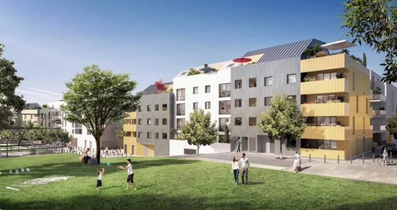 Achat / Vente immobilier neuf Nantes quartier gare/Dalby (44000) - Réf. 3491
