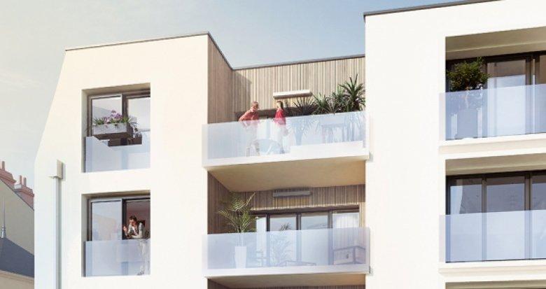 Achat / Vente immobilier neuf Nantes quartier Guist'hau (44000) - Réf. 2105