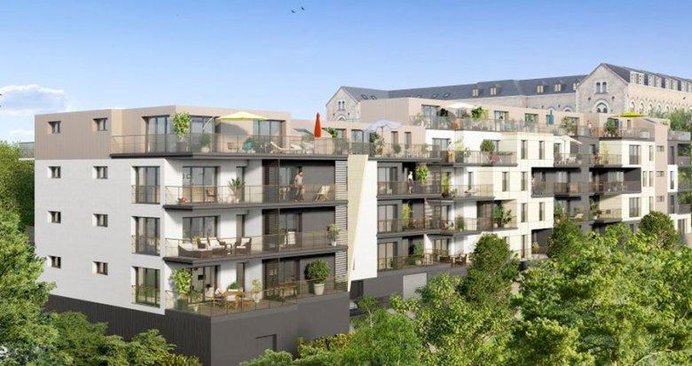 Achat / Vente immobilier neuf Nantes quartier Guist'hau (44000) - Réf. 1525