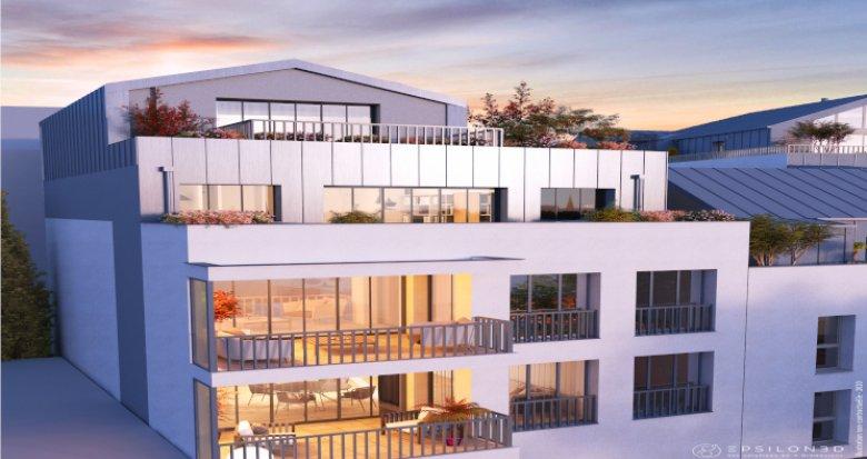 Achat / Vente immobilier neuf Nantes quartier Hauts Pavés (44000) - Réf. 5826