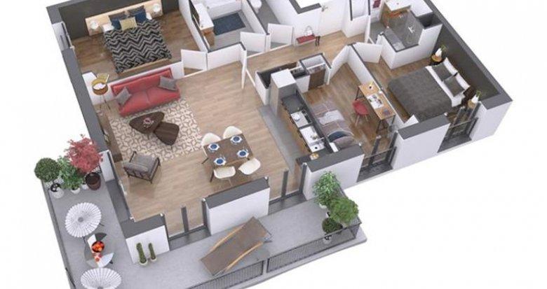 Achat / Vente immobilier neuf Nantes quartier La Prairie des Ducs (44000) - Réf. 204