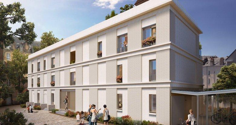 Achat / Vente immobilier neuf Nantes quartier Lamoricière Canclaux (44000) - Réf. 6230