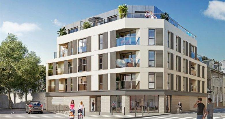Achat / Vente immobilier neuf Nantes quartier Monselet (44000) - Réf. 1592