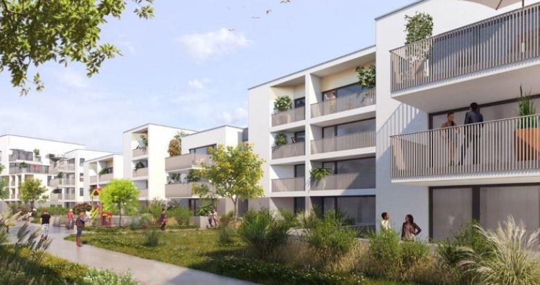 Achat / Vente immobilier neuf Nantes quartier Pont du Cens (44000) - Réf. 5264
