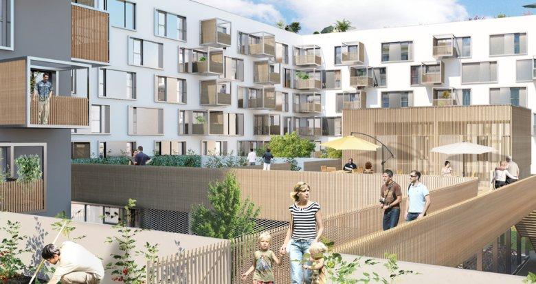 Achat / Vente immobilier neuf Nantes quartier Prairie-au-duc (44000) - Réf. 866