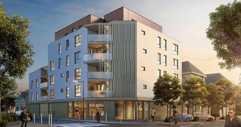 Achat / Vente immobilier neuf Nantes quartier Procé (44000) - Réf. 1451
