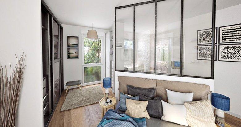 Achat / Vente immobilier neuf Nantes quartier résidentiel calme (44000) - Réf. 729