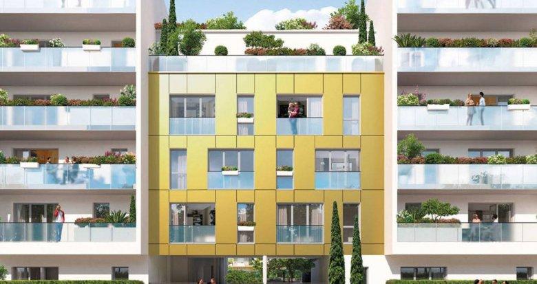 Achat / Vente immobilier neuf Nantes quartier Romanet à deux pas du tram (44000) - Réf. 6166