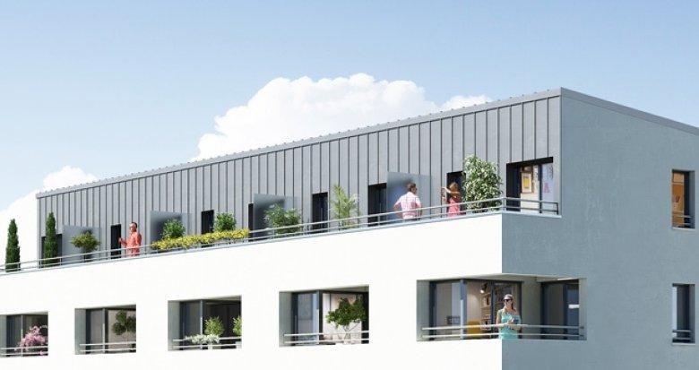 Achat / Vente immobilier neuf Nantes quartier Saint-Joseph de Porterie (44000) - Réf. 1166