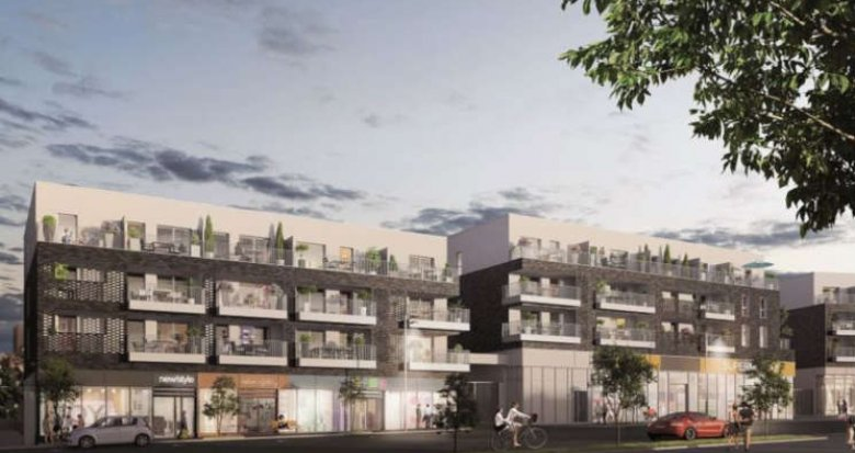 Achat / Vente immobilier neuf Nantes Quartier Saint-Joseph-de-Porterie (44000) - Réf. 2877