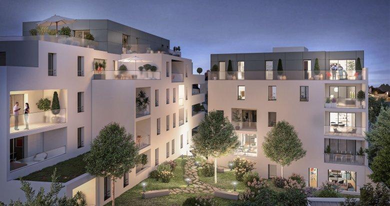 Achat / Vente immobilier neuf Nantes quartier Tortière (44000) - Réf. 3527
