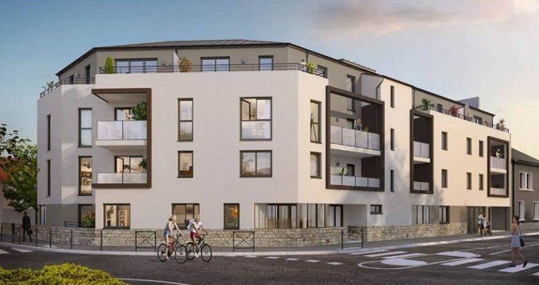 Achat / Vente immobilier neuf Nantes quartier Zola Durantière (44000) - Réf. 5265