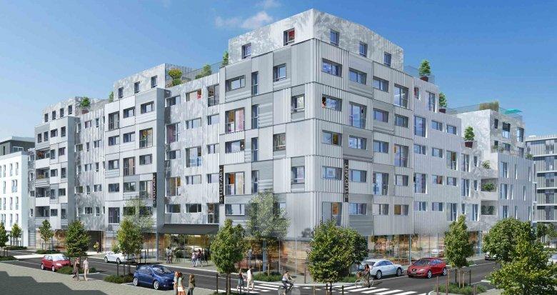 Achat / Vente immobilier neuf Nantes résidence étudiante quartier de la Création (44000) - Réf. 1356