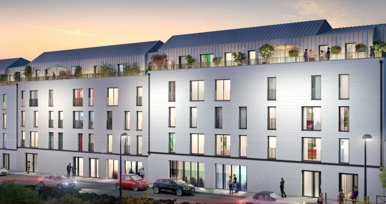 Achat / Vente immobilier neuf Nantes Saint-Clément (44000) - Réf. 4647