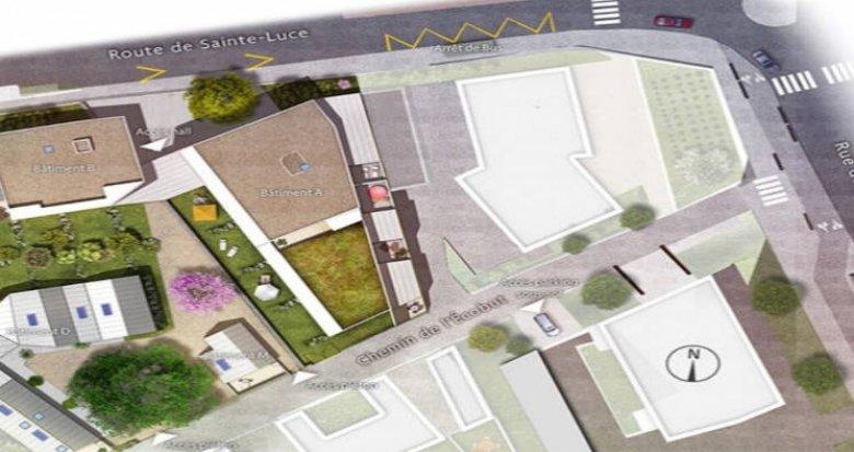 Achat / Vente immobilier neuf Nantes secteur Doulon proche tramway (44000) - Réf. 4719