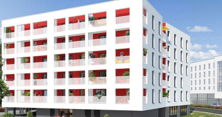 Achat / Vente immobilier neuf Nantes secteur Einstein (44000) - Réf. 377