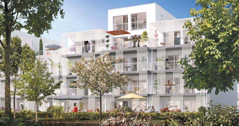 Achat / Vente immobilier neuf Nantes secteur La Beaujoire (44000) - Réf. 1986